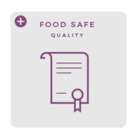 Food safe - premium quality