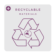 Recycleable materials