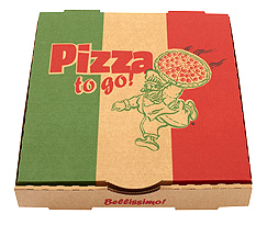 PIZZA TO GO - BROWN