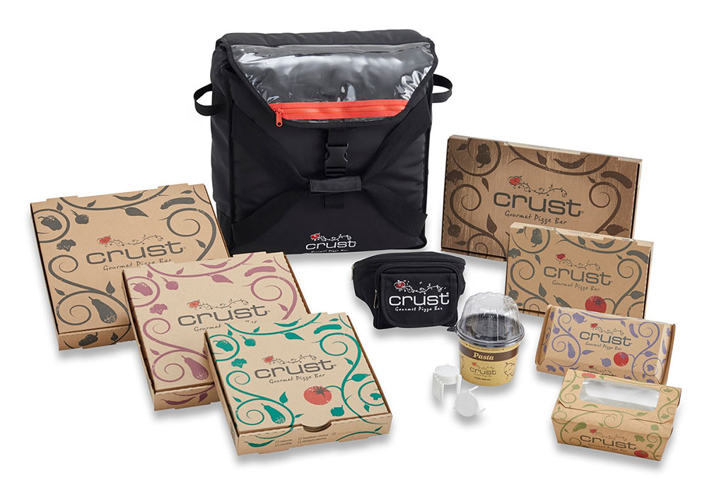 Crust custom packaging